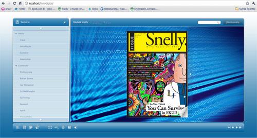 Livro, Revista ou Jornal Digital e Folheado