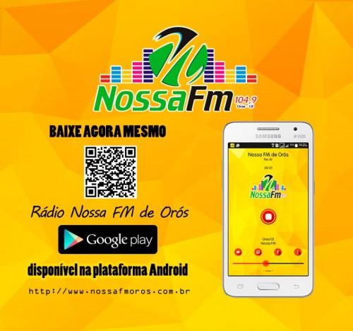 Nossa FM de Orós no Android