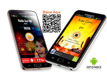 App de Rádio no Android